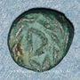 Münzen Les Vandales. Gunthamund (484-496). Nummus bronze