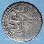 Münzen Algérie. Mahmoud II (1223-1255H = 1808-1839). 1 kharoub 1238H (= 1823), Alger