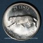 Münzen Canada. Elisabeth II. 25 cents 1967