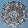 Münzen Chine. Grande amulette de bon augure. Bronze. 68,13 mm