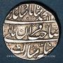 Münzen Inde. Empire Moghol. Muhammad Shah (1131-1161H = 1719-1748). Roupie 114(0)H / 10. Shahjahanabad