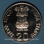 Münzen Inde. République. 20 roupies 1986 (B) Bombay