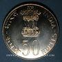 Münzen Inde. République. 50 roupies 1977 (B) Mumbai