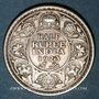 Münzen Indes Anglaises. Georges V (1910-1936). 1/2 roupie 1923 (c). Calcutta