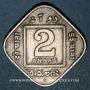 Münzen Indes Anglaises. Georges V (1910-1936). 2 annas 1935 (b). Bombay