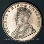 Münzen Indes Anglaises. Georges V (1910-1936). Roupie 1919 (C). Calcutta