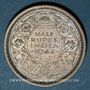 Münzen Indes Anglaises. Georges VI (1936-1952). 1/2 roupie 1944(B), point. Bombay