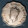 Münzen Indes Anglaises. Georges VI (1936-1952). 1 anna 1938 (b). Bombay
