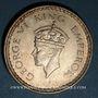 Münzen Indes Anglaises. Georges VI (1936-1952). Roupie 1943 revers B. Bombay