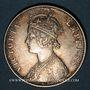 Münzen Indes anglaises. Victoria (1837-1901). Roupie 1900B (incus), Bombay