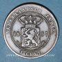 Münzen Indonésie. Indes néerlandaises. Royaume de Hollande. Guillaume III (1849-1890). 1 cent 1857