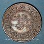 Münzen Indonésie. Indes néerlandaises. Royaume de Hollande. Guillaume III (1849-1890). 2 1/2 cents 1857