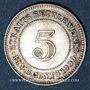 Münzen Malaisie. Etablissements des détroits (Straits Settlements). Victoria (1837-1901). 5 cents 1900