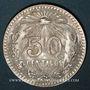 Münzen Mexique. 2e République. 50 centavos 1944