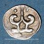 Münzen Myanmar (Birmanie). Royaume de Thaton (fin du 8e siècle à 835). 1 ratti. Variante inédite !