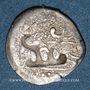 Münzen Myanmar (Birmanie). Royaume de Thaton (fin du 8e siècle à 835). 1 ratti. Variante semblant inédite !