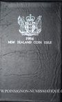 Münzen Nouvelle Zélande. Série FDC 1984