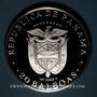 Münzen Panama. République. 20 balboas 1982. 500 /1000. 119,88 g