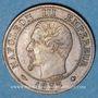 Objets volés 2e empire (1852-70), 1 cme tête nue 1853BB Strasbourg