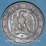 Objets volés 2e empire (1852-70), 2 cmes tête nue 1855BB Strasbourg, ancre
