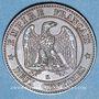 Objets volés 2e empire (1852-70), 2 cmes tête nue 1856K Bordeaux