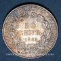 Objets volés 3e république (1870-1940), 50 cmes Cérès 1895A
