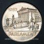 Objets volés Autriche. République. 500 schilling 1983. Parlement
