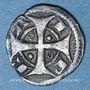 Objets volés Belgique. Flandres. Ypres. Maille à la croix longue, vers 1180-1220
