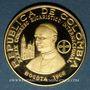 Objets volés Colombie. République. 300 pesos 1968. 39e congrès eucharistique international. 900 /1000. 12,90 g