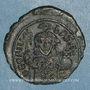 Objets volés Empire byzantin. Théophile (829-842). 1/2 follis. Constantinople, 830/831-842
