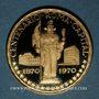 Objets volés Guinée Equatoriale. République. 750 pesetas 1970. (900 /1000. 10,57 gr)