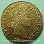 Objets volés Louis XIV (1643-1715), double louis d'or aux 8L et aux insignes 1702A