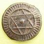 Objets volés Maghreb, 'Alawites, Sidi Muhammad IV (1276-90H), 4 fals 1286H, Fas