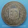 Objets volés Notaires, Saint-Etienne, jeton argent 1886. Poinçon : corne d'abondance
