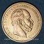 Objets volés Prusse, Guillaume I (1861-1888), 20 mark 1883A. 900 /1000. 7,96 gr