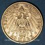 Objets volés Prusse, Guillaume II (1888-1918), 20 mark 1900A. 900 /1000. 7,96 gr