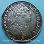 Objets volés Secrétaires du Roi, Louis XV, jeton argent 1731