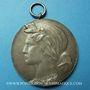 Objets volés Strasbourg, 25e anniversaire du Vélo-club Koenigshoffen 1922 médaille br. argenté 50 mm
