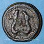 Objets volés Suessiones (région de Soissons). 1ère moitié du 1er siècle av. J-C. Potin aux deux animaux affrontés