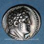 Monnaies Phénicie. Tyr. Demi-shekel an 1 (= 126-125 av. J-C)