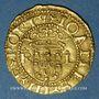 Coins Portugal. Jean III (1512-1557). Cruzado à l'écu aux huit chateaux, petit module