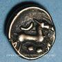 Coins Rémi. Région de Reims. 1/4 statère au cheval à cinq pattes, vers 130 à 60 av. J-C.