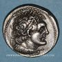 Coins Royaume d'Egypte. Ptolémée V Epiphane (204-180 av. J-C). Tétradrachme. Alexandrie