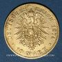 Münzen Saxe. Albert (1873-1902). 10 mark 1874E. 900 /1000. 3,98 gr