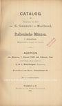 Second hand books Hamburger L, Francfort, vente aux enchères, janv. 1902, Italienische Münzen, collezione Gnecchi, I