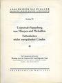 Second hand books Hess A., Francfort. Vente aux enchères n° 203,  16.02.1931