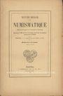 Second hand books Revue Belge de Numismatique. 1901