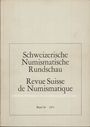 Second hand books Revue suisse de numismatique. 1971