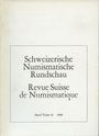 Second hand books Revue suisse de numismatique. 1980