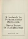 Second hand books Revue suisse de numismatique. 1985